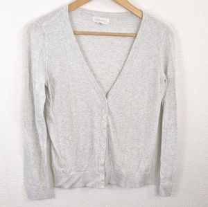F21 cardigan grey mix
